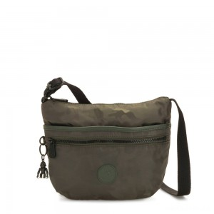 Kipling ARTO S Cross Body Shoulder Bag Satin Camo