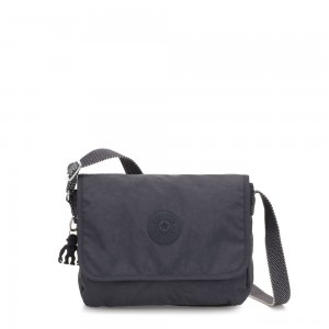Kipling NITANY Medium Crossbody Bag Night Grey