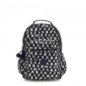 Kipling SEOUL GO Large Backpack with Laptop Protection Boy Hero