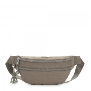 Kipling SARA Medium Bumbag Convertible to Crossbody Bag Seagrass