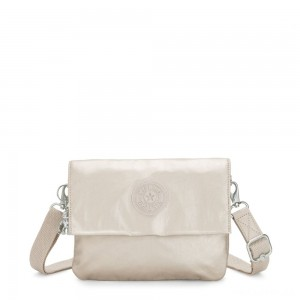 Kipling OSYKA 2 in 1 Crossbody and Pouch with Card Slots Cloud Metal Gifting