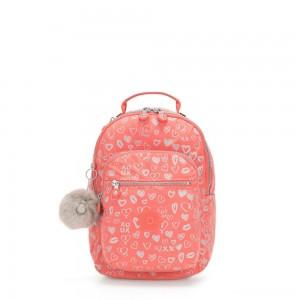 Kipling SEOUL GO S Small Backpack Hearty Pink Met