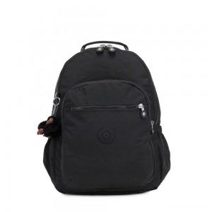 Kipling SEOUL GO Large Backpack with Laptop Protection True Black
