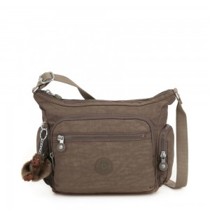 Kipling GABBIE S Crossbody Bag with Phone Compartment True Beige