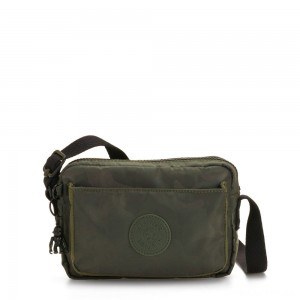 Kipling ABANU Mini Crossbody Bag with Adjustable Shoulder Strap Satin Camo
