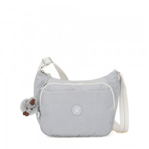 Kipling CAI Handbag with Extendable Strap Active Grey Bl
