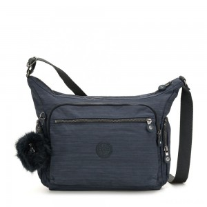 Kipling GABBIE Medium Shoulder Bag True Dazz Navy