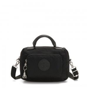 Kipling AZRA Crossbody Mini Bag With Handles and Adjustable Shoulder strap Galaxy Black