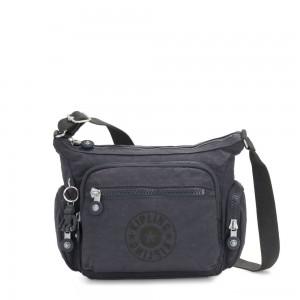 Kipling GABBIE S Crossbody Bag with Phone Compartment Night Grey Nc
