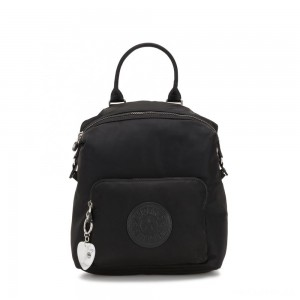 Kipling NALEB Small Backpack with tablet sleeve Meteorite