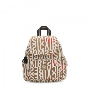 Kipling CITY PACK MINI City Pack Mini Backpack Studio Print