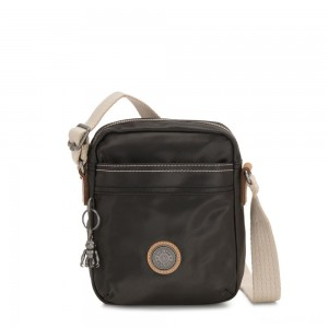 Kipling HISA Small Crossbody bag with front magneic pocket Delicate Black