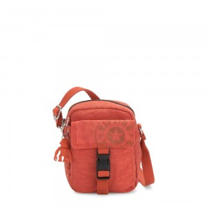 Kipling TEDDY Small Crossbody Bag Hearty Orange