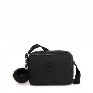 Kipling SILEN Small Across Body Shoulder Bag True Dazz Black