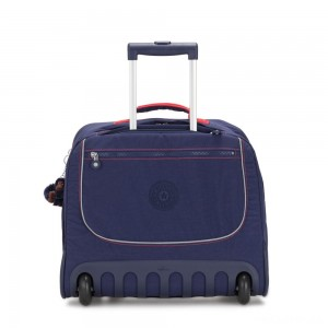 Kipling CLAS DALLIN Large Schoolbag with Laptop Protection Polished Blue C
