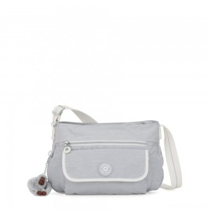 Kipling SYRO Medium Crossbody Active Grey Bl