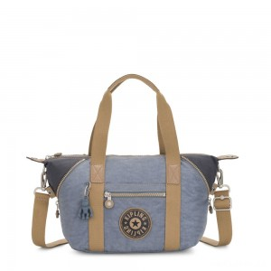 Kipling ART MINI Handbag Stone Blue Block