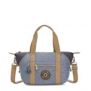 Kipling ART MINI Handbag Stone Blue Block