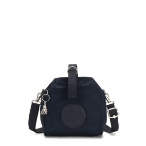 Kipling IMMIN Small Shoulder Bag True Blue Twill