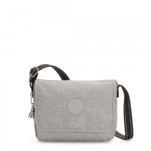 Kipling NITANY Medium Crossbody Bag Chalk Grey
