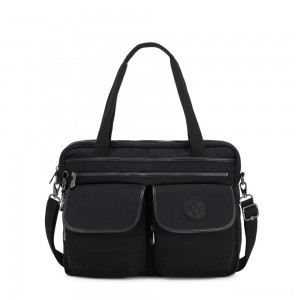 Kipling MARIC Working Bag with laptop protection Rich Black