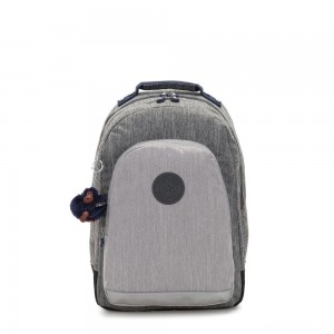 Kipling CLASS ROOM Large backpack with laptop protection Ash Denim Bl