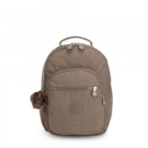 Kipling CLAS SEOUL S Backpack with Tablet Compartment True Beige