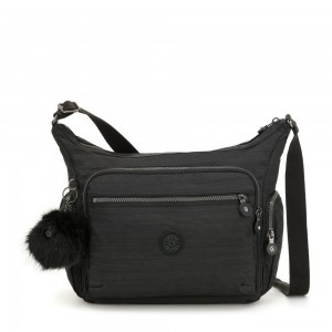 Kipling GABBIE Medium Shoulder Bag True Dazz Black