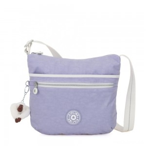 Kipling ARTO Shoulder Bag Across Body Active Lilac Bl