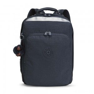 Kipling COLLEGE UP Large Backpack With Laptop Protection True Navy