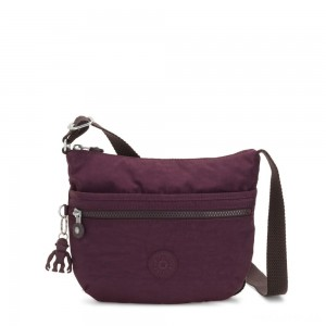 Kipling ARTO S Small Cross-Body Bag Dark Plum