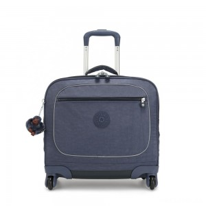 Kipling MANARY 4 Wheeled Bag with Laptop protection True Jeans