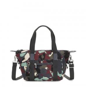 Kipling ART MINI Handbag Camo Large