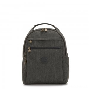 Kipling MICAH Medium Backpack Black Indigo