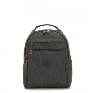 Kipling MICAH Medium Backpack Black Indigo