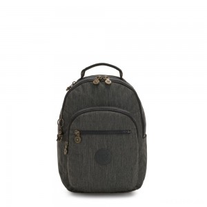 Kipling SEOUL S Small Backpack with Tablet Compartment Black Indigo