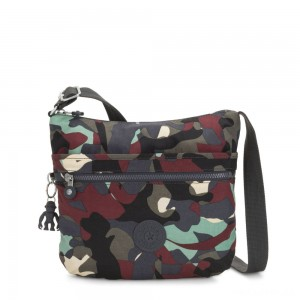 Kipling ARTO Shoulder Bag Across Body Camo Large