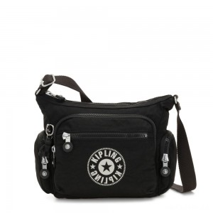 Kipling GABBIE S Crossbody Bag with Phone Compartment Lively Black