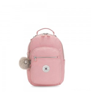 Kipling SEOUL S Small backpack with tablet protection Bridal Rose