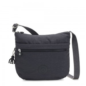 Kipling ARTO Shoulder Bag Across Body Night Grey
