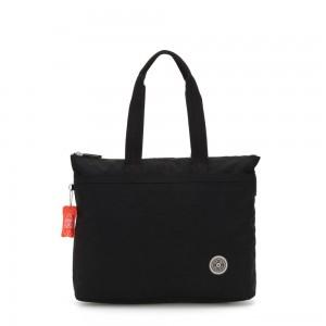 Kipling CHIKA Large tote bag with laptop protection Brave Black