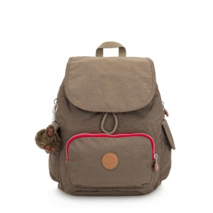 Kipling CITY PACK S Small Backpack True Beige C