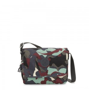 Kipling NITANY Medium Crossbody Bag Camo Large