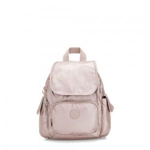 Kipling CITY PACK MINI City Pack Mini Backpack Metallic Rose