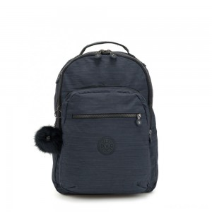 Kipling CLAS SEOUL Large backpack with Laptop Protection True Dazz Navy