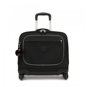 Kipling MANARY 4 Wheeled Bag with Laptop protection True Black
