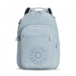 Kipling CLAS SEOUL Water Repellent Backpack with Laptop Compartment Mellow Blue C