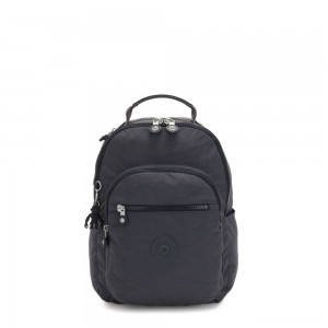 Kipling SEOUL S Small Backpack with Tablet Compartment Night Grey