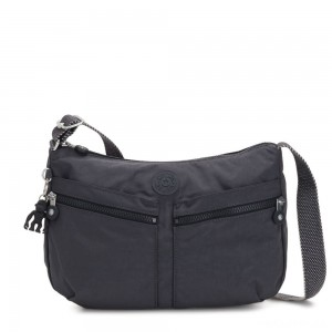Kipling IZELLAH Medium Across Body Shoulder Bag Night Grey