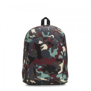 Kipling EARNEST Large Foldable Backpack Camo Large